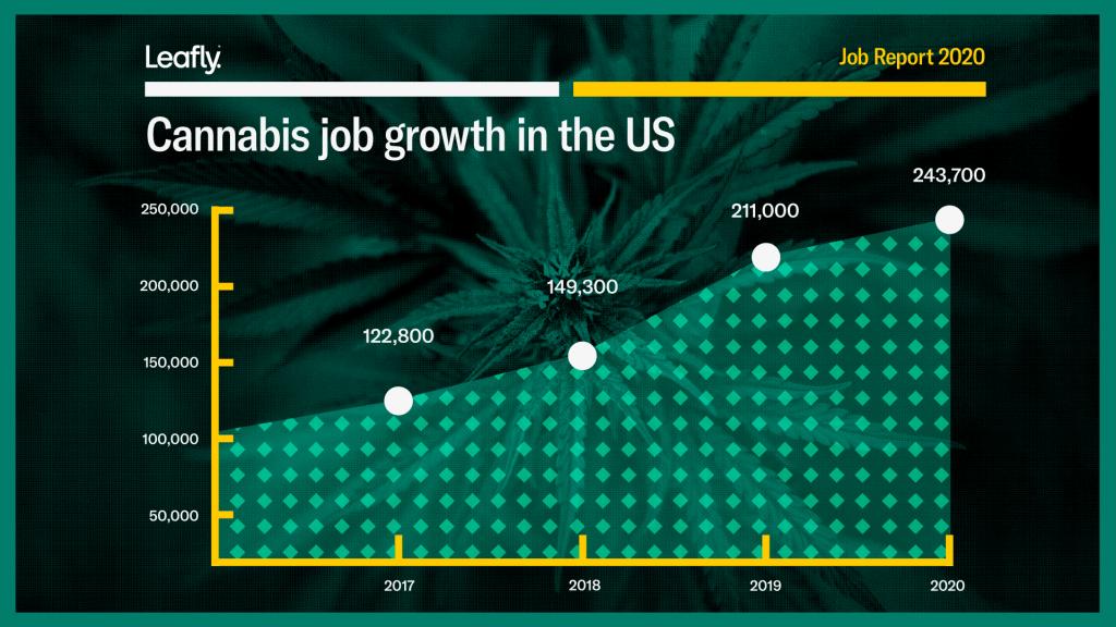 Cannabis Job Growth leafly